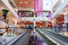 Inside of the Park House Samara Mall Royalty Free Stock Image
