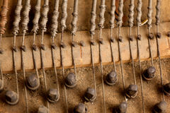 Inside piano Stock Photo