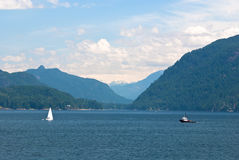 Inside passage, canada Royalty Free Stock Photography