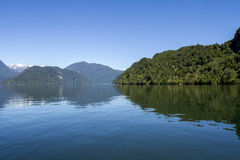 Inside Passage Of The Chilean Fjords Royalty Free Stock Photography