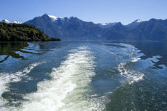 Inside Passage Of The Chilean Fjords Royalty Free Stock Image