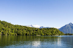 Inside Passage Of The Chilean Fjords Royalty Free Stock Photo