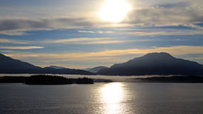 Inside Passage. The Inside passage in the early morning Stock Images