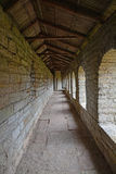 Inside of passages in the walls of Fortress Oreshek near Shlisselburg, Russia Stock Image