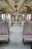 Inside passenger car Stock Image