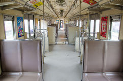 Inside passenger car Stock Photography