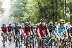 Inside the Peloton Stock Photos