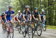 Inside the Peloton Royalty Free Stock Photography