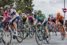 Inside The Peloton - Tour de Catalunya 2016 Royalty Free Stock Images