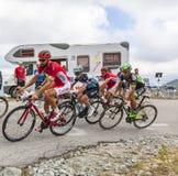 Inside the Peloton - Tour de France 2015 Stock Images
