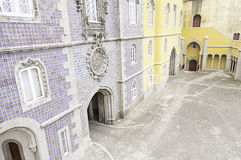 Inside the Pena Palace Royalty Free Stock Images