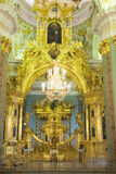 Inside Peter and Paul Cathedral, St. Petersburg Royalty Free Stock Photo