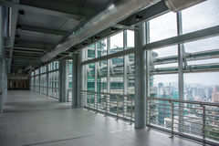 Inside Petronas Twin Towers Skybridge Stock Photography