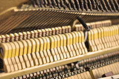 Inside a Piano Royalty Free Stock Photography