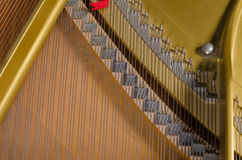 Inside of a piano full frame royalty free stock images