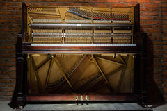 Inside the piano Royalty Free Stock Images