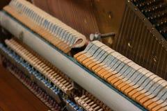 Inside a Piano stock photos