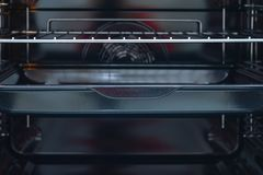 Inside piecowy piekarnik zdjęcie stock