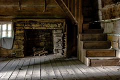 Inside a pioneer home Royalty Free Stock Photo