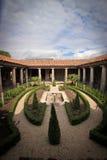 Inside the Pompeii excavation site Royalty Free Stock Photo