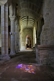 Inside the Pont-Croix church Royalty Free Stock Photos