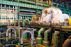 Inside powerplant Stock Photo
