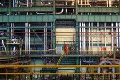 Inside powerplant Stock Image