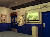 Inside the precinct Royalty Free Stock Photos