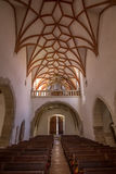 Inside Prejmer church Royalty Free Stock Photography