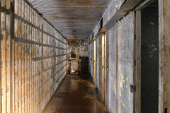 Inside of Prison Cells Stock Images