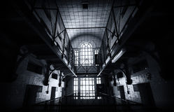 Inside a Prison Royalty Free Stock Image