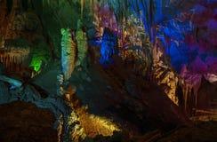 Inside a prometheus cave in Georgia Stock Photography