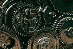 Inside przekładnia silnik Obraz Stock