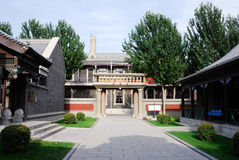 Inside the Puppet Manchurian State Royal Palace. In Changchun, Jinlin Province, China Royalty Free Stock Photography
