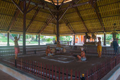 Inside Pura Taman Ayun świątynia, Bali Obraz Stock