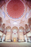 Inside the Putra Mosque, Putrajaya, Malaysia Royalty Free Stock Photography