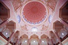 Inside the Putra Mosque, Putrajaya, Malaysia Stock Photography