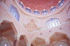 Inside the Putra Mosque, Putrajaya, Malaysia Stock Photos