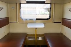 Inside railcar Stock Photography