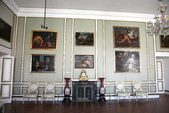 Inside of Rector's Palace in Dubrovnik. Croatia. Stock Photos
