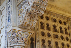 Details of red fort Stock Photos