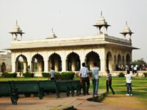 Inside Red Fort Royalty Free Stock Photography