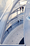Inside the Reichstag Dome Royalty Free Stock Image