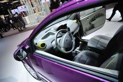 Inside Renault Twingo car Royalty Free Stock Images