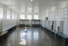 Inside Robben Island prison Royalty Free Stock Photography