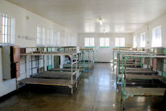 Inside Robben Island prison Royalty Free Stock Photo