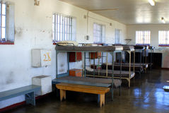 Inside Robben Island prison Stock Image