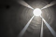 Inside Rocket Launcher Tube Royalty Free Stock Photo