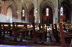 Inside of the Roman Catholic Cathedral Stock Images