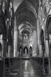 Inside of roman catholic Saint Catharine Church Stock Images
